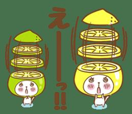 Lemon cat squash 2 sticker #7013084