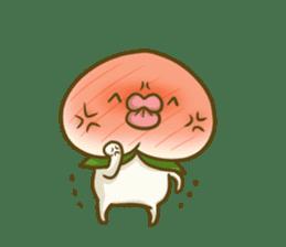 Feeling of peach 3 sticker #7013449