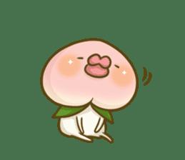Feeling of peach 3 sticker #7013451