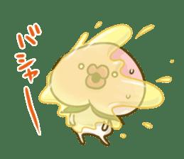 Feeling of peach 3 sticker #7013457