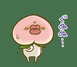 Feeling of peach 3 sticker #7013460