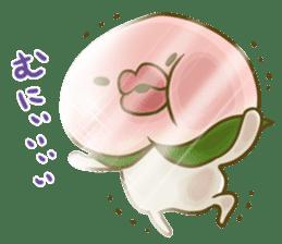 Feeling of peach 3 sticker #7013467