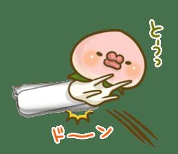 Feeling of peach 3 sticker #7013472
