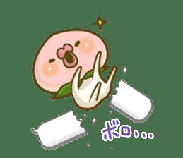 Feeling of peach 3 sticker #7013473