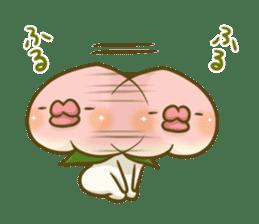 Feeling of peach 3 sticker #7013479