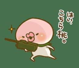 Feeling of peach 3 sticker #7013480