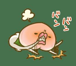 Feeling of peach 3 sticker #7013481