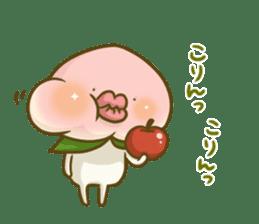 Feeling of peach 3 sticker #7013487
