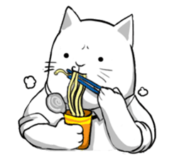 The Salary Cat sticker #7013774