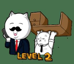 The Salary Cat sticker #7013778