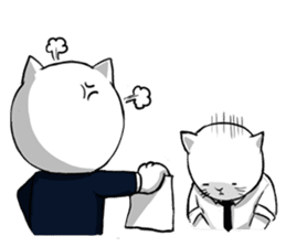 The Salary Cat sticker #7013780