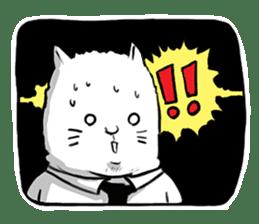 The Salary Cat sticker #7013783