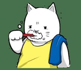 The Salary Cat sticker #7013788