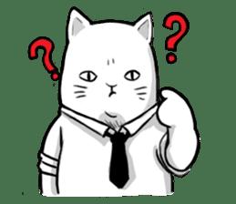 The Salary Cat sticker #7013789