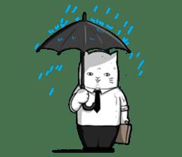 The Salary Cat sticker #7013791