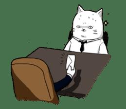 The Salary Cat sticker #7013806
