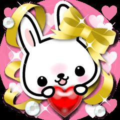 Bunny 3D Sticker 2