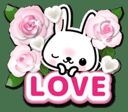 Bunny 3D Sticker 2 sticker #7014170