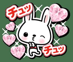 Bunny 3D Sticker 2 sticker #7014172