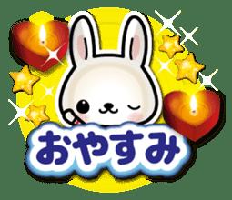Bunny 3D Sticker 2 sticker #7014181