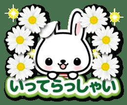 Bunny 3D Sticker 2 sticker #7014182