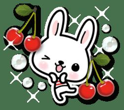 Bunny 3D Sticker 2 sticker #7014184