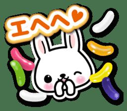 Bunny 3D Sticker 2 sticker #7014186