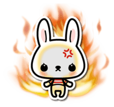 Bunny 3D Sticker 2 sticker #7014188