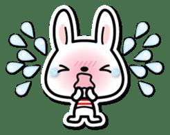 Bunny 3D Sticker 2 sticker #7014190