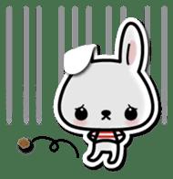 Bunny 3D Sticker 2 sticker #7014191