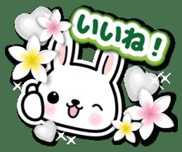 Bunny 3D Sticker 2 sticker #7014194