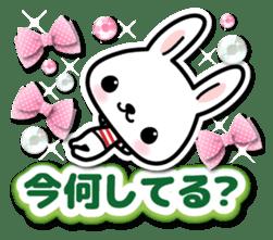 Bunny 3D Sticker 2 sticker #7014196