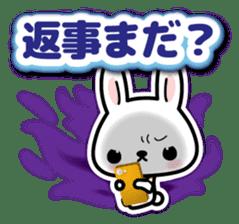 Bunny 3D Sticker 2 sticker #7014199
