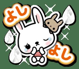 Bunny 3D Sticker 2 sticker #7014202