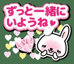 Bunny 3D Sticker 2 sticker #7014207