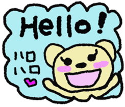 Child May of the bear 2 sticker #7014210