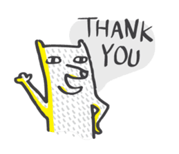 M the dog and yellow light sticker #7014637