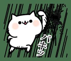 Cat of violent reaction sticker #7018608