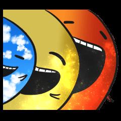 宇宙人と太陽系の星々