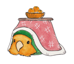 Everyday lovebird sticker #7024571