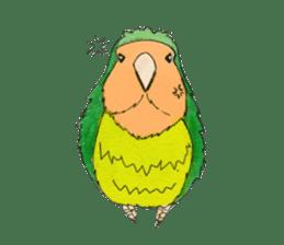 Everyday lovebird sticker #7024576