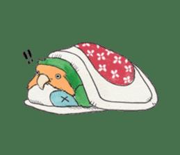 Everyday lovebird sticker #7024586