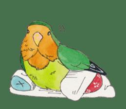 Everyday lovebird sticker #7024587