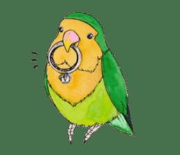 Everyday lovebird sticker #7024592