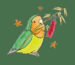 Everyday lovebird sticker #7024597