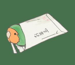 Everyday lovebird sticker #7024601