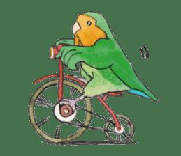 Everyday lovebird sticker #7024603