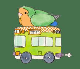 Everyday lovebird sticker #7024604