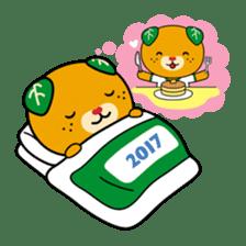 """Ehime Kokutai and Ehime Taikai """"Mikyan"""" sticker #7031251"""