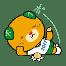 """Ehime Kokutai and Ehime Taikai """"Mikyan"""" sticker #7031255"""